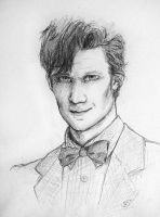 Matt Smith by DeZzibELl