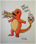 charmander by xsilver-cloudx