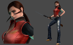 XNA LARA - Claire Redfield WIP by FearEffectInferno