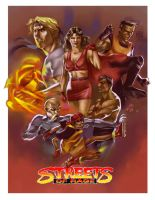 Streets of  Rage Fan Art by Wilustra