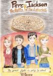 Percy Jackson, the battle of the labyrinth by one-film-one-drawing