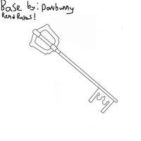 Keyblade Base by PowBunny