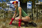 Me as Cammy last by cosplayerotica