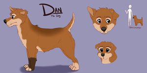 DAN THE DOG - Reference Sheet by danyhund