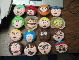 South Park: We Love Cupcakes by twisted-phantom