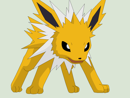 Pokemon Base 134~Jolteon 3~ by Xbox-DS-Gameboy