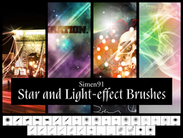 Star and Light-effect Brushes by simen91