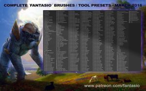 Complete Fantasio Tool Presets - Patreon Exclusive by fantasio