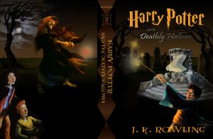 Deathly Hallows cover finalist by Eicats