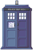 TARDIS pixel by Decoy-Mantis