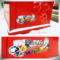 First sticker snow by AMUTWO