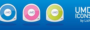 PSP UMD Icons by LichtMedia