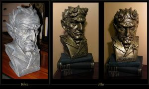 Steampunk Bust by hever
