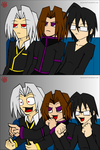 Gallery Gang Reaction Guys by NeoVersion7