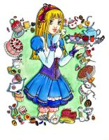 Alice in Wonderland by katarzyna-z