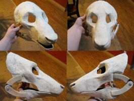 Long muzzled monster blank! by Crystumes