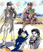 JoJo: By the Sea by lemonfruitpie