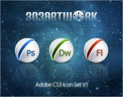 Adobe CS3 Icon Set V1 by 303artwork