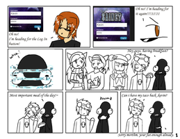 Kevin Adventures - Awesome Kevin page 1 by shahua