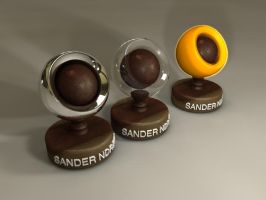 c4d R11 materials by sanderndreca