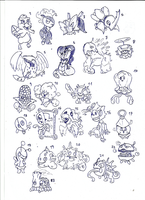 Fakemon sketch19102014 by toongrowner