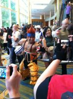 Mr. Wakka at Anime Matsuri 2 by ShinrajunkieCosplay