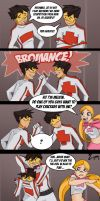 Brotherly Competition by Ceshira
