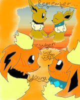 Remember.. When We Were Young? by Eeveelutionluver123