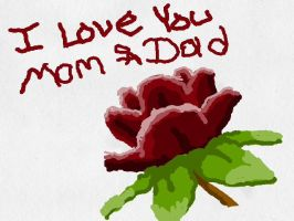 Tribute to mom and dad love yeah guys by blackzero04