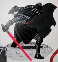 Darth Vader by AreteEirene