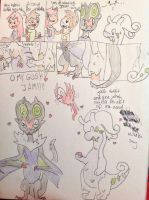 Noivern and goodra tf by Auracuno