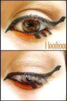 Pokemon Makeup: Hoothoot