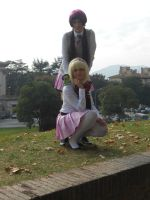 Ao no Exorcist - Shiemi and Izumo by Mokachiko