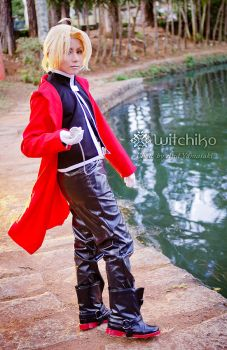 Edward Elric::::: by Witchiko