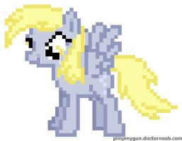 16 bit PMG Derpy Hooves by Northern-Dash