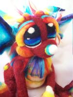 Little Red Sprinkle Dragon by Tanglewood-Thicket