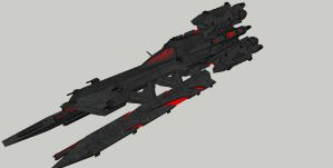 Pred Ship un-rendered by spyderrock48