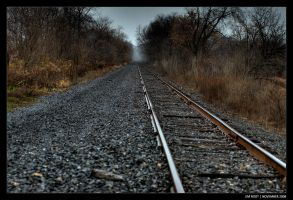 A Walk On The Tracks II by jimroot