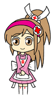 Pokemon Conquest - Nurse Oichi by gaming123456