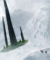 Snow Mountain - Ancient Constructs by MangaAssault