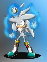 Silver the Hedgehog 2014 by Meta-Kaz