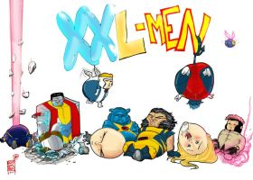X-men XXL by TigerArtStudio