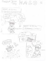 Freddy and Jason play Halo Pg1 by RadJinja