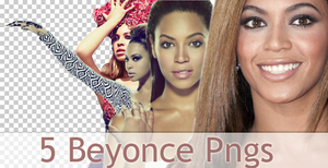 Beyonce Png Pack by TerriusCandy