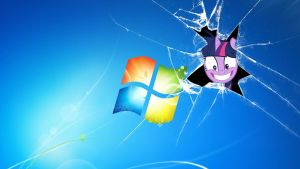 windows can't handle my ponies by mehoep