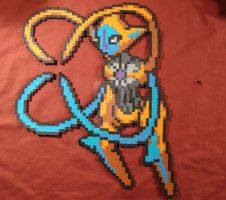 Deoxys -Attack Forme- by Meltpixel