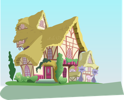 [VECTOR][SVG] Slightly overused house by TriteBristle