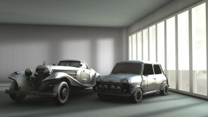 c4d global test.cars by c1p0