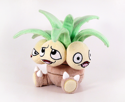 Exeggutor side by caffwin