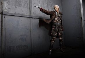 Metal Gear - Revolver Ocelot cosplay by RBF-productions-NL